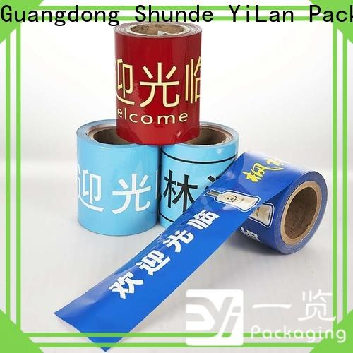 YiLan Packaging Top packaging film roll for business for decoration