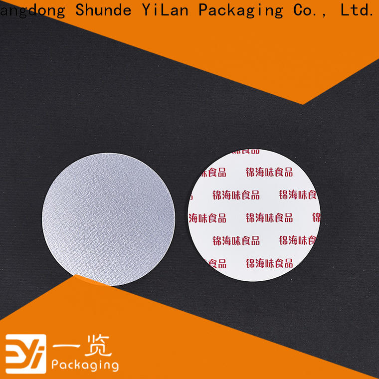 YiLan Packaging Top seal liner Suppliers for calcium tablet