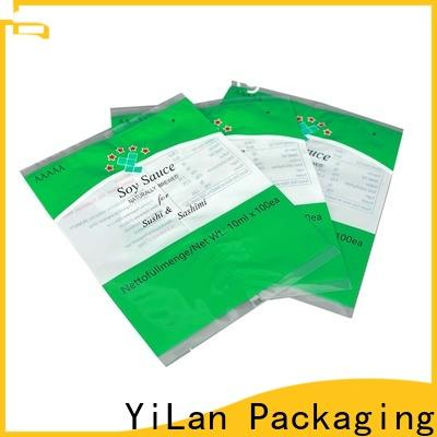 YiLan Packaging Latest flexible pouches packaging for business for gift