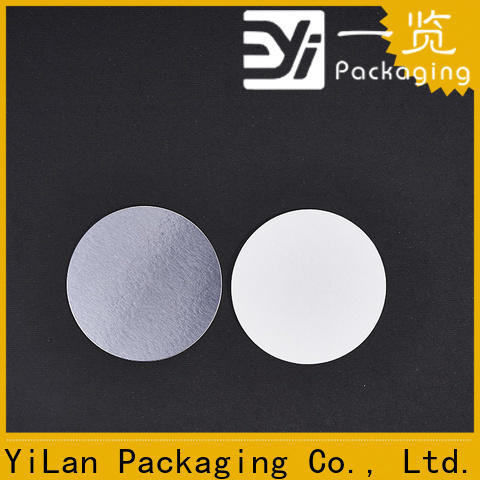 YiLan Packaging not induction seal liners manufacturers for protection