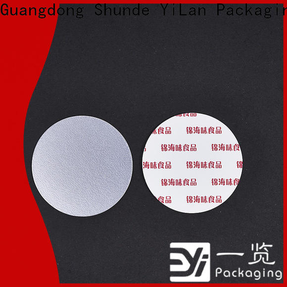 YiLan Packaging Wholesale induction seal liners company for protection