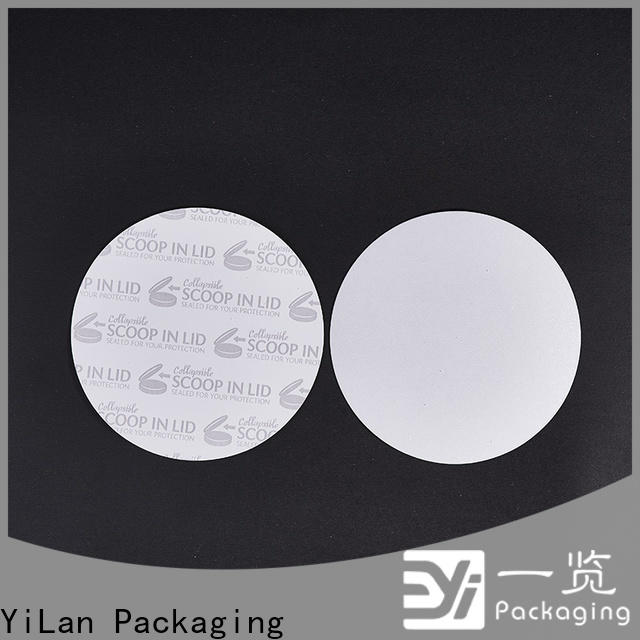 YiLan Packaging membrane induction liner factory for calcium tablet