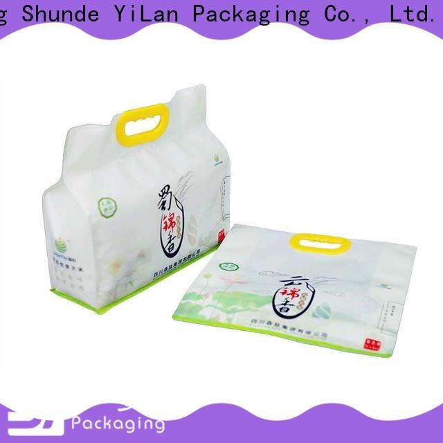 YiLan Packaging bottom side gusset bag Supply for food