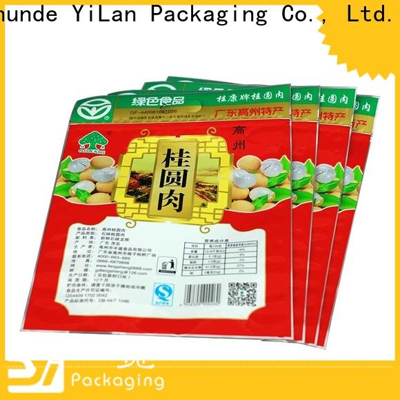 YiLan Packaging Wholesale three side seal pouch company for pop corn
