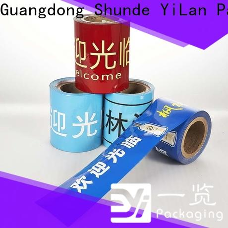 YiLan Packaging Wholesale laminated packaging films Suppliers for advertising