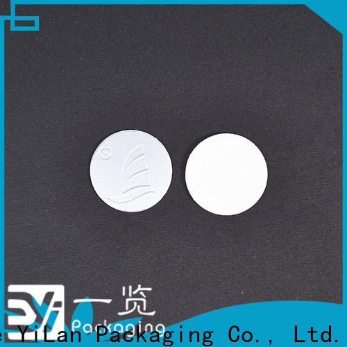 Custom seal liner stamp factory for calcium tablet