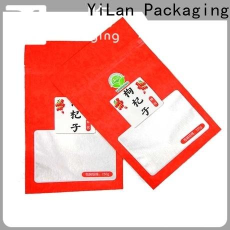 YiLan Packaging sausage 3 side seal pouch Supply for storage