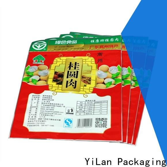 YiLan Packaging bag stand up pouch bags company for storage