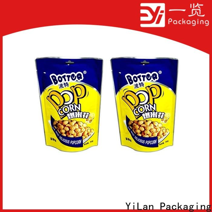 YiLan Packaging Latest custom stand up pouches manufacturers for gift
