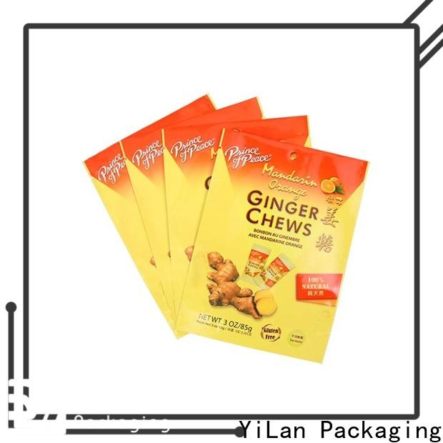 High-quality resealable pouch bags tea manufacturers for mask