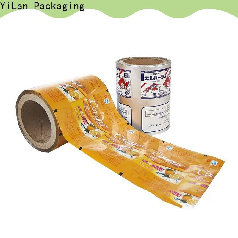 YiLan Packaging electrical laminated packaging films factory for advertising