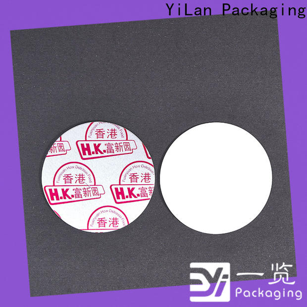 YiLan Packaging stamp induction liner Supply for protection