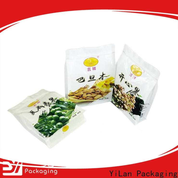 YiLan Packaging rice side gusset bag factory for food