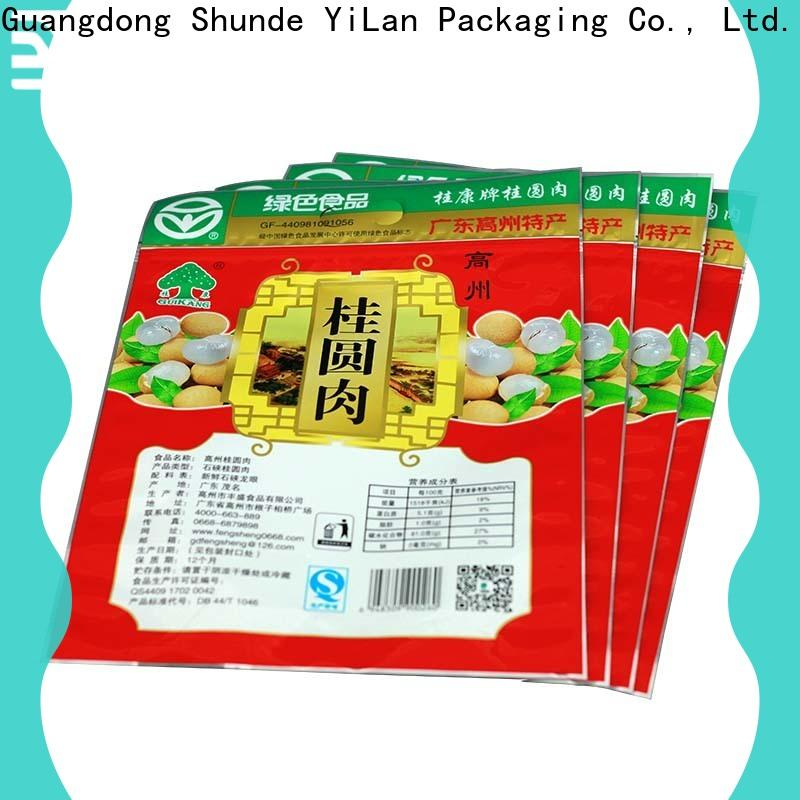 Top three side seal pouch snacks factory for pop corn