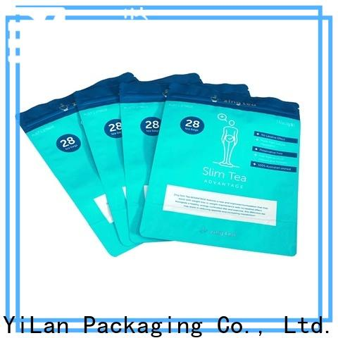 YiLan Packaging Latest stand up barrier pouches company for gift