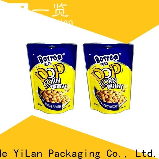 YiLan Packaging High-quality resealable pouch bags manufacturers for gift