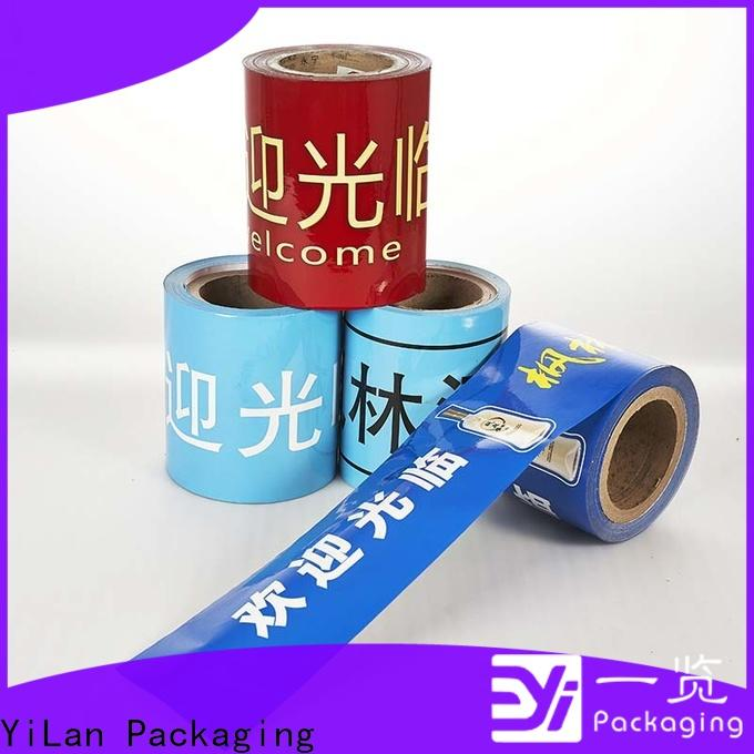 YiLan Packaging High-quality laminated packaging films factory for indoor/outdoor