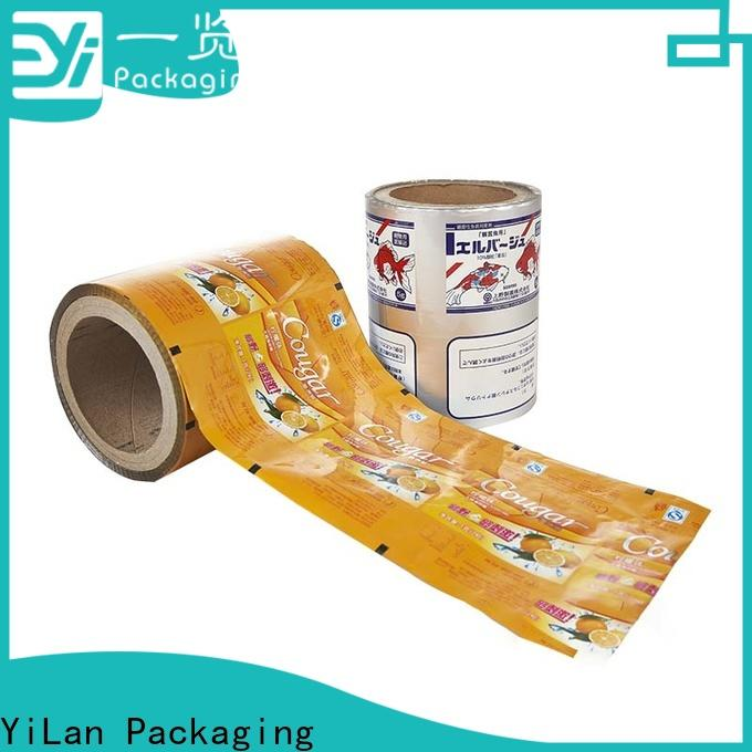 YiLan Packaging supplies packaging film company for decoration