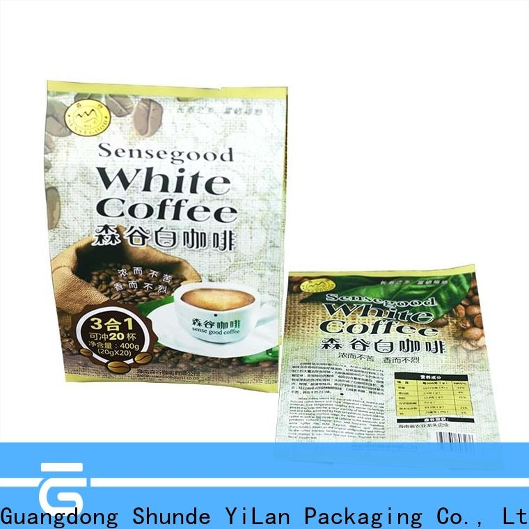 Custom gusseted bags coffee manufacturers for gift