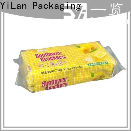 YiLan Packaging Latest fin seal packaging Suppliers for cookies