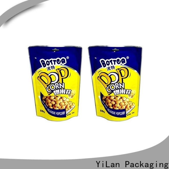 YiLan Packaging Best resealable pouch bags Supply for food