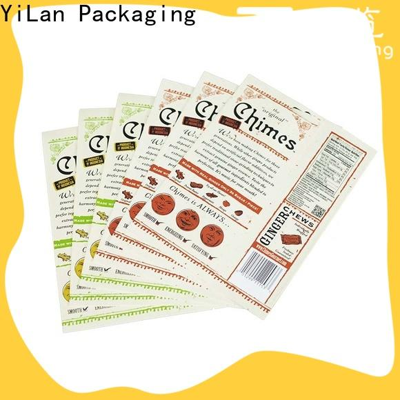 YiLan Packaging New resealable pouch bags for business for mask