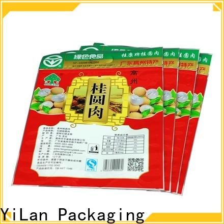 YiLan Packaging three food packaging bags for business for food