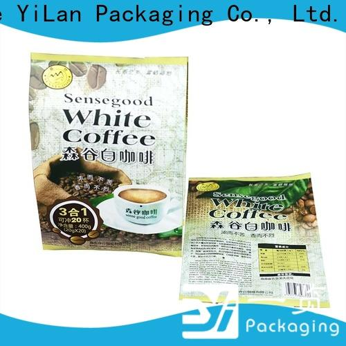 Latest flexible pouches packaging gusseted Supply for backage