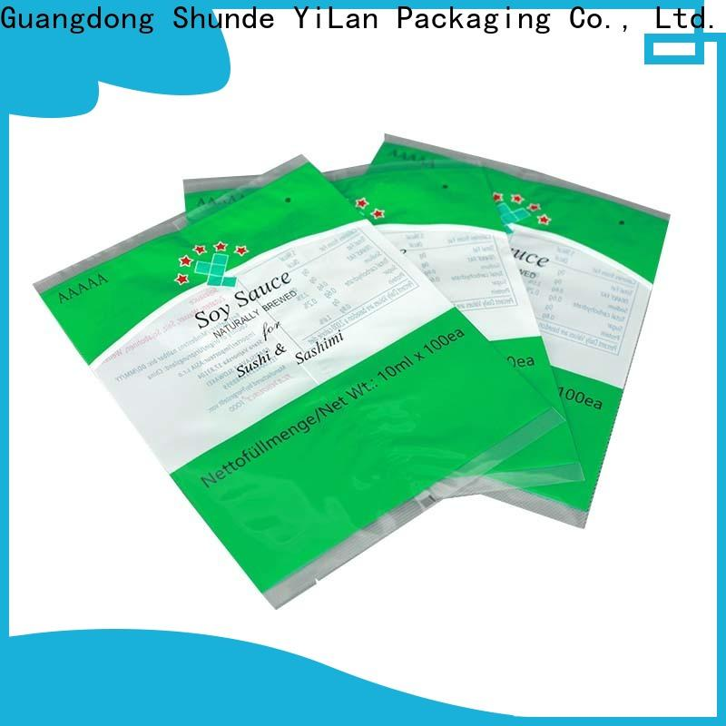 YiLan Packaging gusseted fin seal packaging Supply for cookies