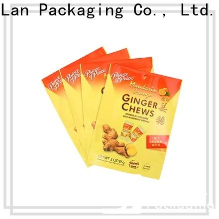 YiLan Packaging High-quality resealable food packaging company for food