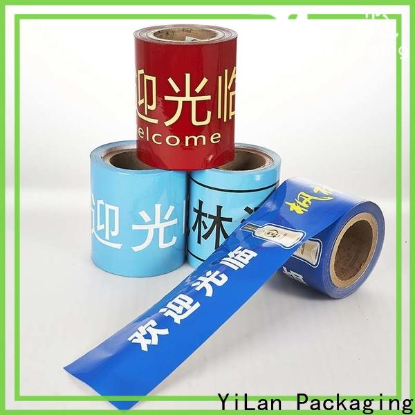 YiLan Packaging New packaging film company for decoration