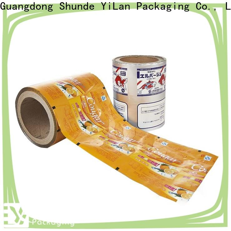 YiLan Packaging New packaging film roll Suppliers for indoor/outdoor