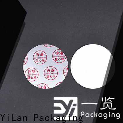 YiLan Packaging separated induction liner company for protection