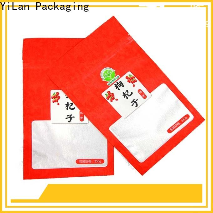 Latest seal pouches translucent for business for food