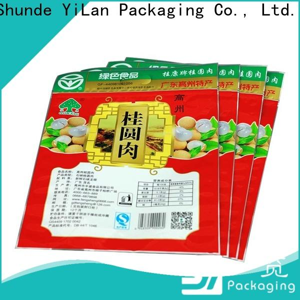 High-quality stand up pouch packaging bag company for storage