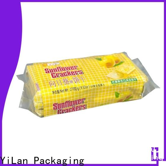 Top fin seal packaging biscuits for business for coffee bag