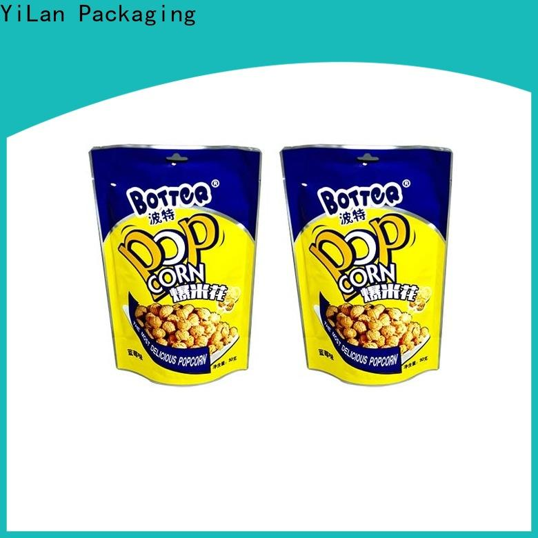 YiLan Packaging High-quality custom stand up pouches company for mask