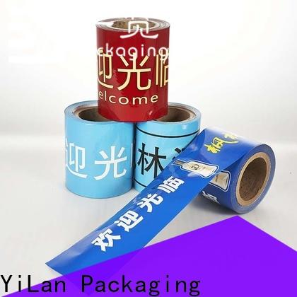 YiLan Packaging food packaging film roll company for decoration