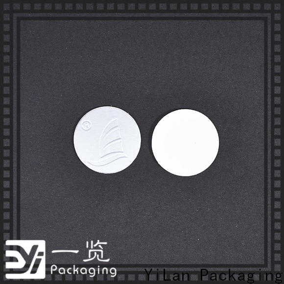 YiLan Packaging Custom induction seal liners Suppliers for calcium tablet