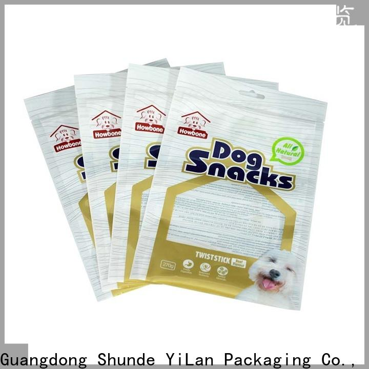 YiLan Packaging sealed stand up pouch packaging for business for storage