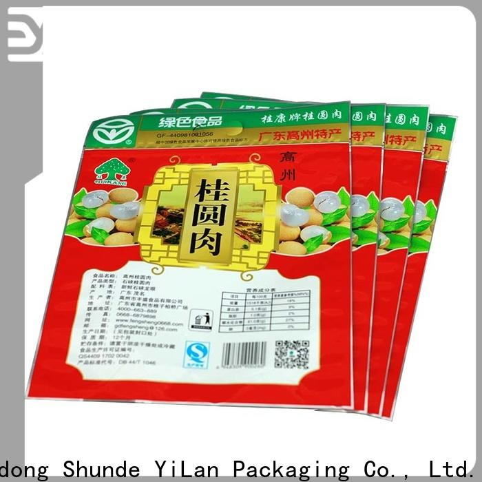 High-quality 3 side seal pouch snacks manufacturers for food