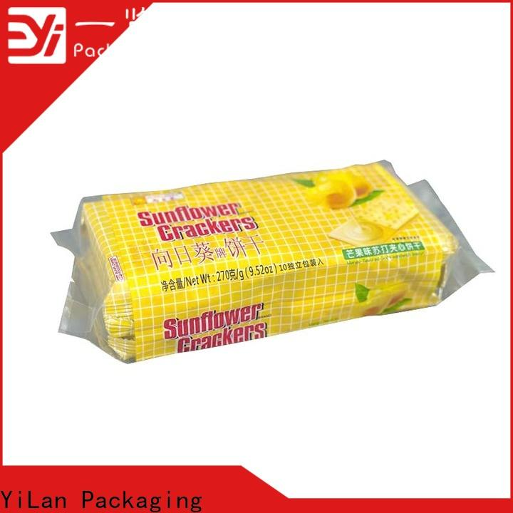 YiLan Packaging translucent flexible pouches packaging factory for coffee bag