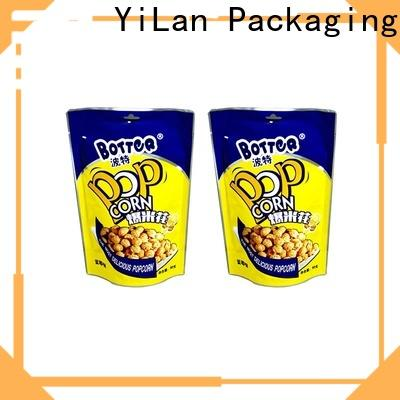 YiLan Packaging Custom resealable pouch bags company for mask