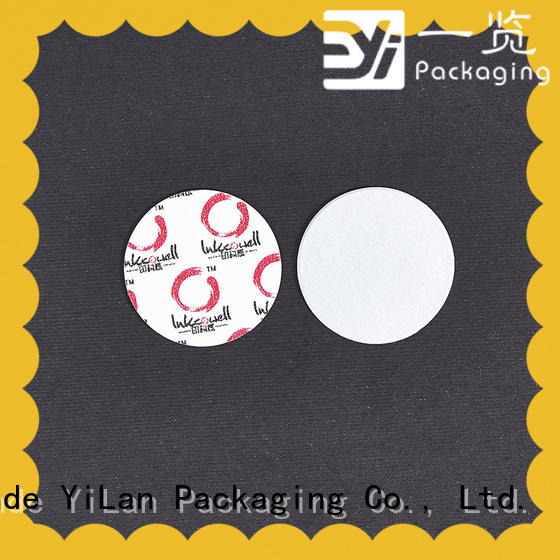 YiLan Packaging pet induction liner factory for food