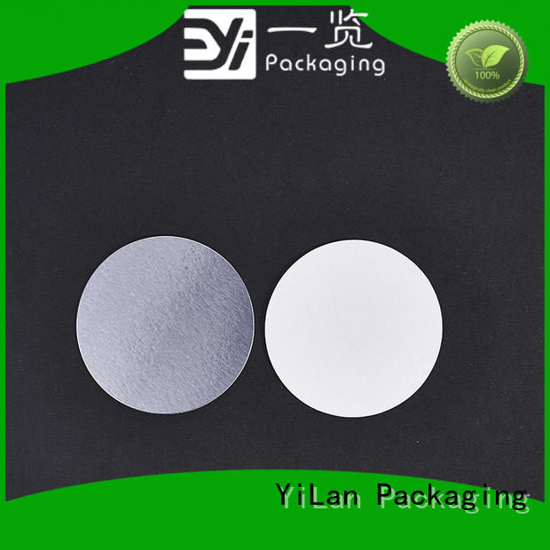translucent induction seal liners cardboard easy to open for calcium tablet
