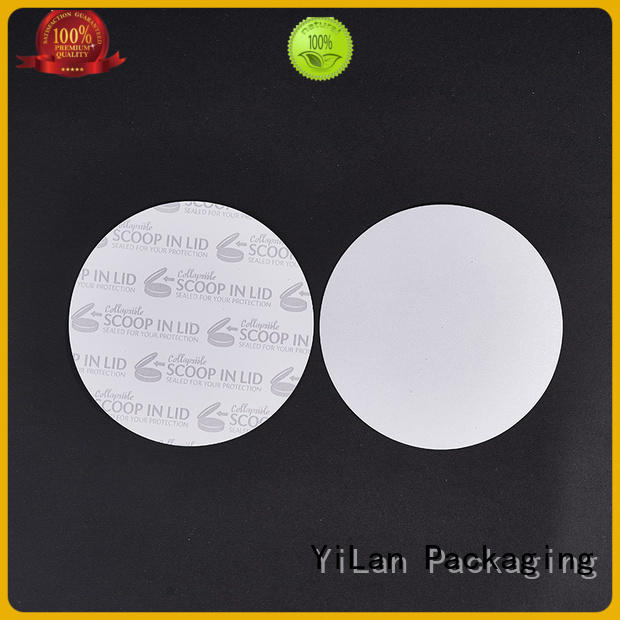 YiLan Packaging translucent induction seal liners easy to open for protection