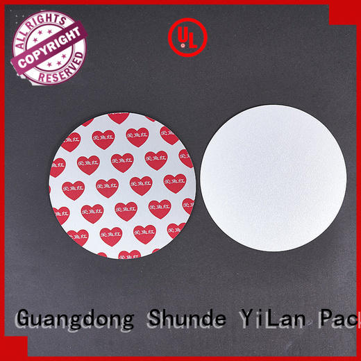 seal liner stamp for calcium tablet YiLan Packaging