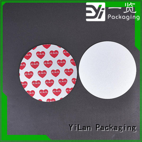 YiLan Packaging stamp seal liner factory for calcium tablet