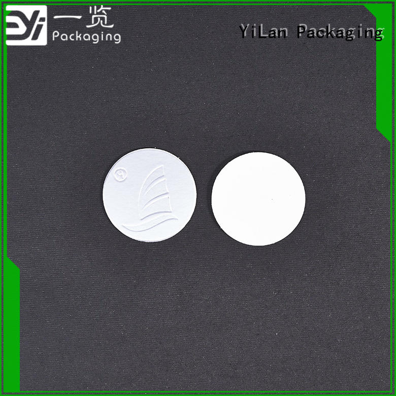 YiLan Packaging adhesive seal liner manufacturers for food