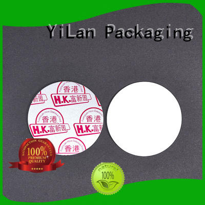 YiLan Packaging online induction seal liners easy to open for calcium tablet